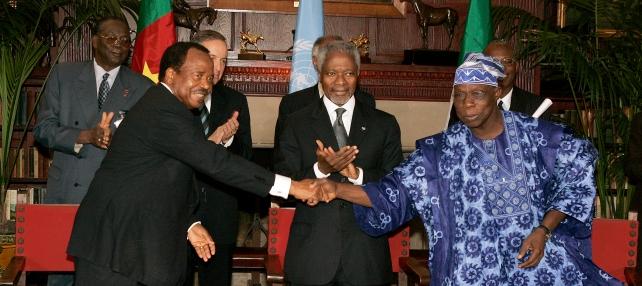 Biya and Obasanjo
