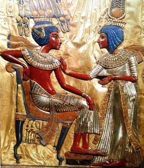 Or-argent-pierres-toutankhamon-18e-dynastie-le-caire-musée-egyptien